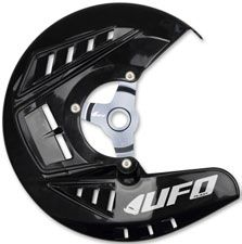 UFO Bremsscheibenschutz KTM SX/SX-F/EXC BLACK