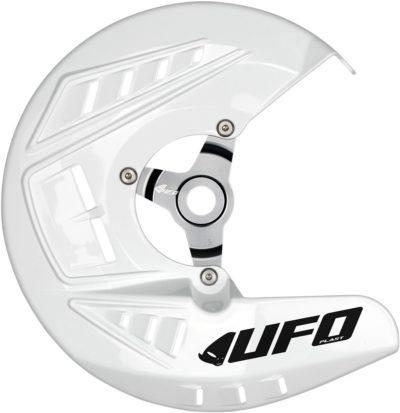 UFO Bremsscheibenschutz KTM SX/SX-F/EXC WHITE