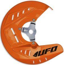 UFO Bremsscheibenschutz KTM SX/SX-F/EXC 125 ORANGE