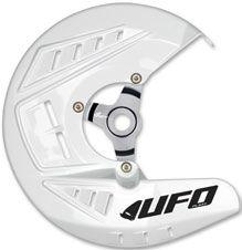 UFO Bremsscheibenschutz YAMAHA YZ250/450F WHITE