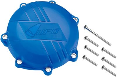 UFO CLUTCH COVER W/MOUNTING KIT YAMAHA YZF/WR 250 BLUE