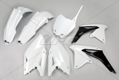 UFO Plastikkit SUZUKI RMZ450 WHITE
