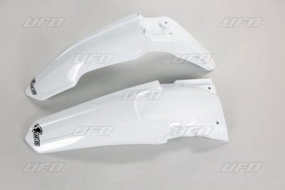 UFO Vorne & Hinterradkotflügel KIT SUZUKI RMZ250 WHITE