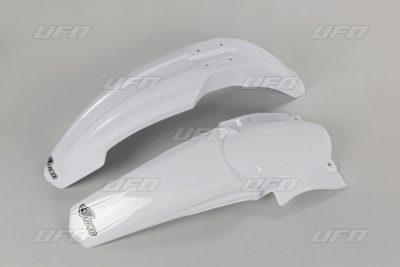 UFO Vorne & Hinterradkotflügel KIT YAMAHA YZ250/450F 06-09 WHITE