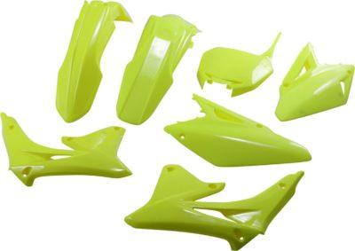 UFO Plastikkit SUZUKI RMZ450 FLUO YELLOW