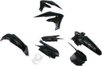 UFO Plastikkit YAMAHA BLACK