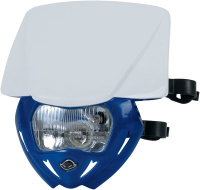 UFO PANTHER Lampenmaske (12V/35W) DUAL COLOR WHITE/REFLEX-BLUE
