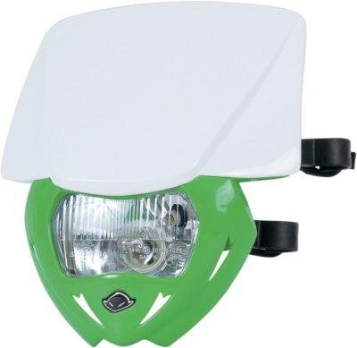 UFO PANTHER Lampenmaske (12V/35W) DUAL COLOR WHITE/KX-GREEN
