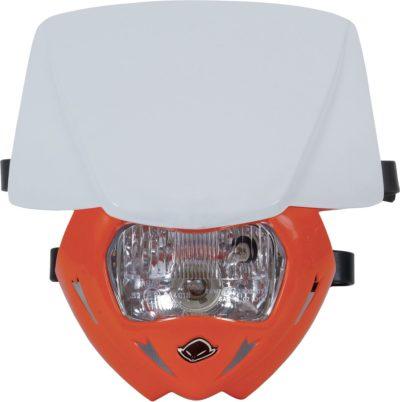 UFO PANTHER Lampenmaske (12V/35W) DUAL COLOR WHITE/ORANGE