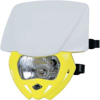 UFO PANTHER Lampenmaske (12V/35W) DUAL COLOR WHITE/RM-YELLOW