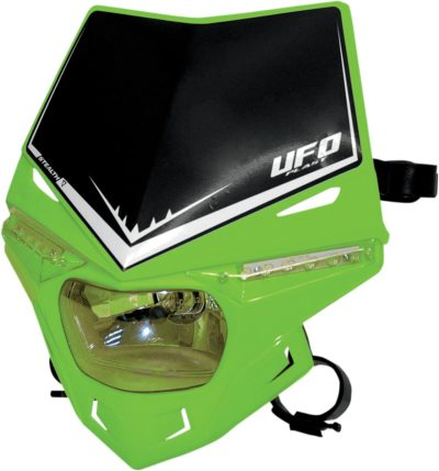 UFO STEALTH Lampenmaske (12V/35W & LED) SINGLE COLOR KX-GREEN