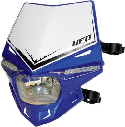 UFO STEALTH Lampenmaske (12V/35W & LED) SINGLE COLOR REFLEX-BLUE