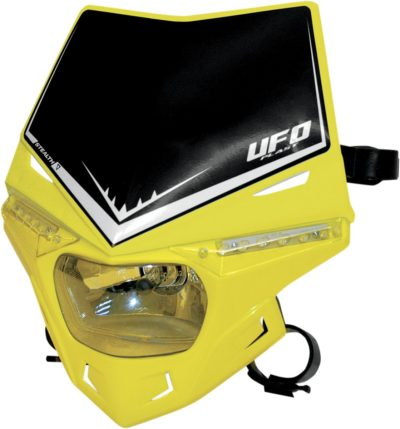 UFO STEALTH Lampenmaske (12V/35W & LED) SINGLE COLOR RM-YELLOW