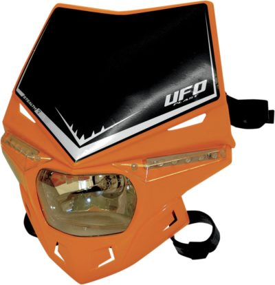 UFO STEALTH Lampenmaske (12V/35W & LED) SINGLE COLOR KTM-ORANGE