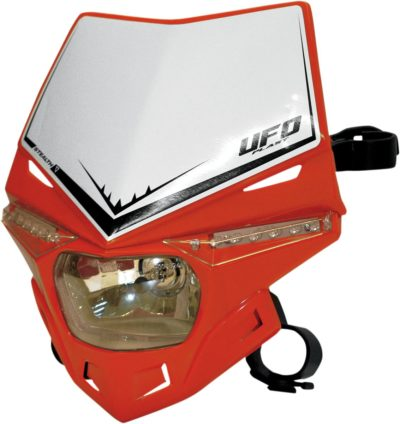UFO STEALTH Lampenmaske (12V/35W & LED) SINGLE COLOR CRF-RED