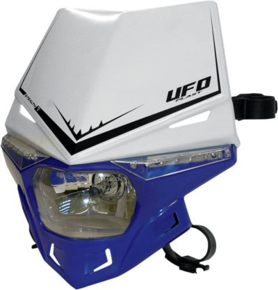 UFO STEALTH Lampenmaske (12V/35W & LED) DUAL COLOR WHITE/REFLEX-BLUE