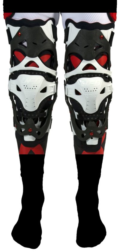 UFO MORPHO-FIT KNEEBRACE SIZE L/XL PAIR WHITE