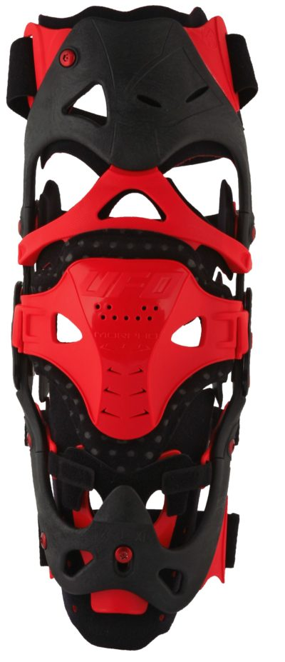 UFO MORPHO-FIT KNEEBRACE SIZE S/M LEFT SIDE RED