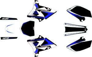 RESTYLE GRAPHIC KIT YAMAHA YZ125/250 BLACK
