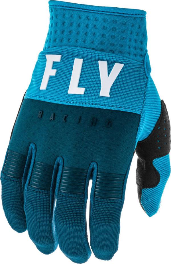 Fly Racing Glove F-16 Kids navy-blue-white
