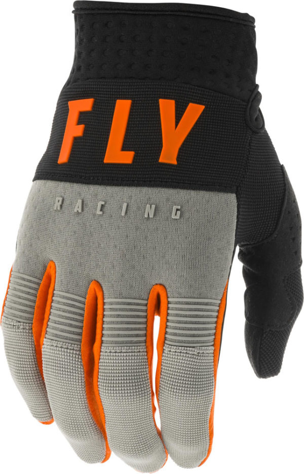 Fly Racing Glove F-16 Kids grey-black-orange