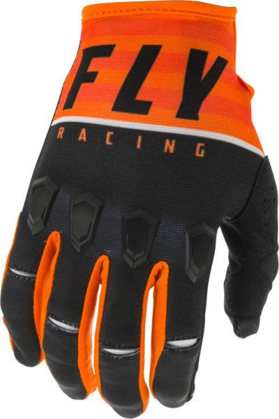 Fly Racing Glove Kinetic K120 orange-black-white