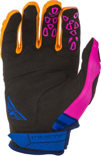 Fly Racing Glove Kinetic K220 midnight blue-orange