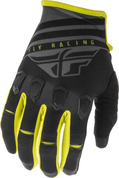 Fly Racing Glove Kinetic K220 black-grey-hi-vis