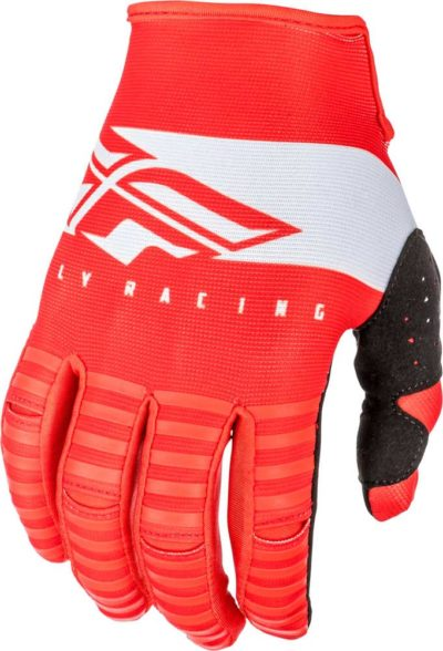 Fly Racing Glove Kinetic Shield red-white