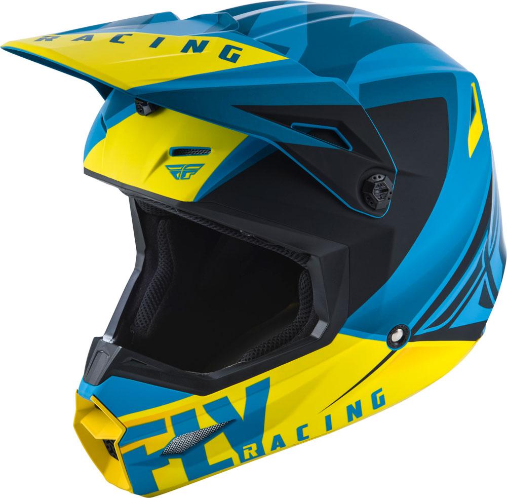 FLY ELITE VIGILANT 2019 Helmet Blue//Black XS
