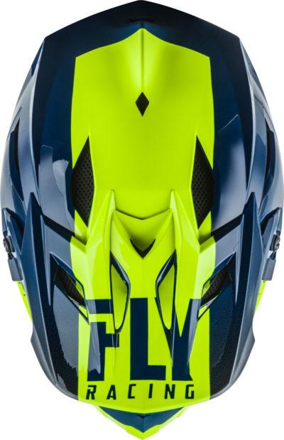 Fly Racing Helmet MTB Default teal-hi-vis-yellow