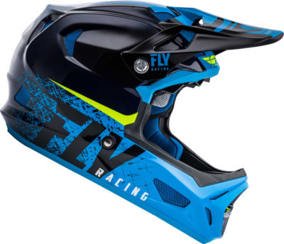 Fly Racing Helmet Werx Imprint MTB/BMX black-blue