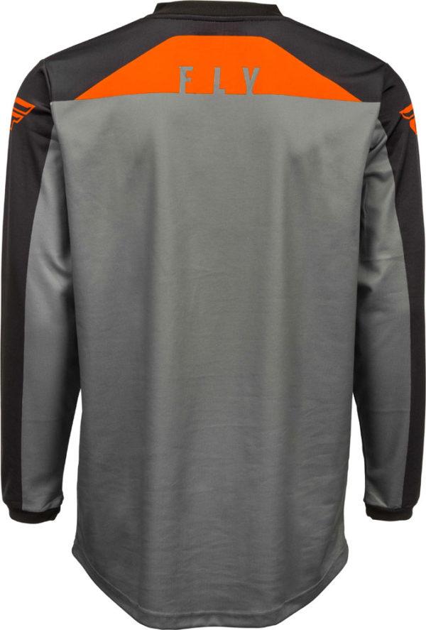 Fly Racing Jersey F-16 grey-black-orange