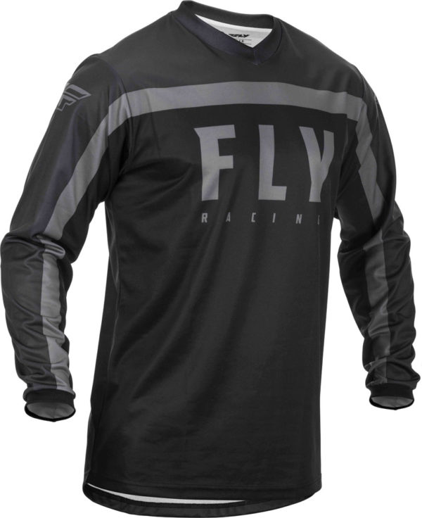 Fly Racing Jersey F-16 black-grey