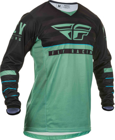 Fly Racing Jersey Kinetic K120 sage green-black