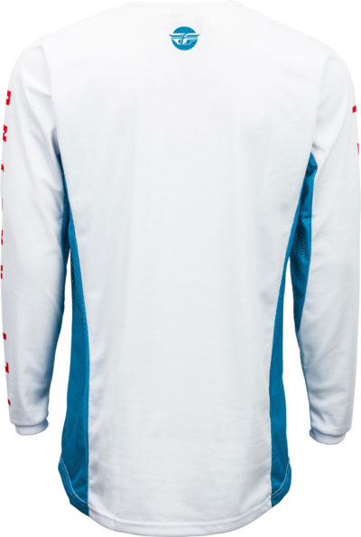 Fly Racing Jersey Kinetic K220 blue-white-red