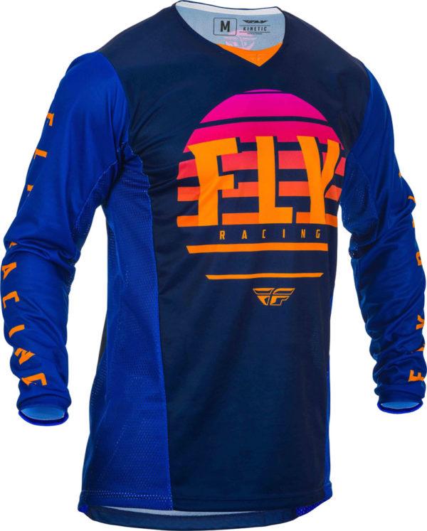 Fly Racing Jersey Kinetic K220 midnight blue-orange