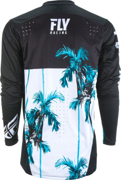 Fly Racing Jersey Lite Hydrogen Paradise teal-black