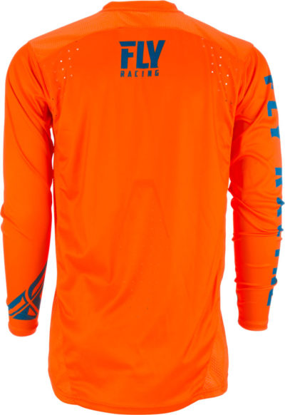 Fly Racing Jersey Lite Hydrogen orange-navy