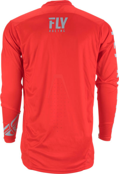 Fly Racing Jersey Lite Hydrogen red-grey