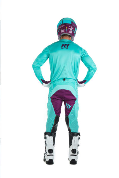 Fly Racing Jersey Lite Hydrogen seafoam-port-white
