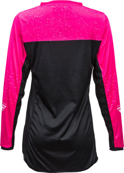 Fly Racing Jersey Lite Lady neon-pink-black