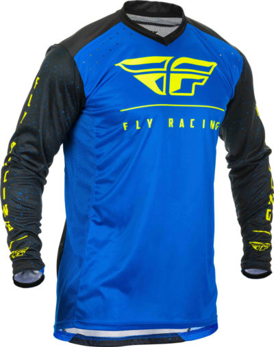 Fly Racing Jersey Lite blue-black-hi-vis