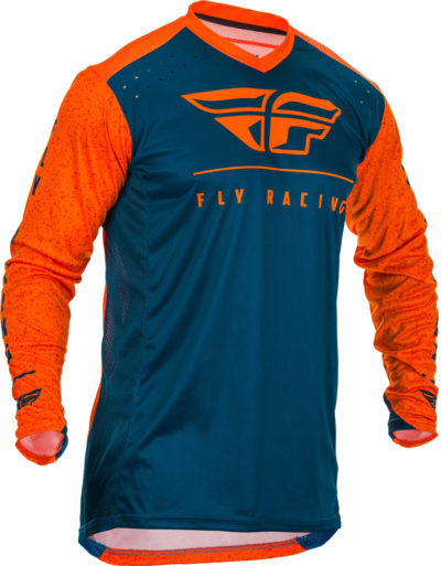 Fly Racing Jersey Lite orange-navy