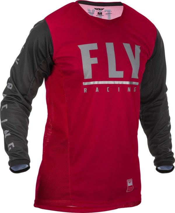 Fly Racing Jersey Patrol maroon-black