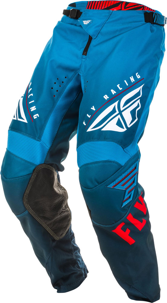 Fly Racing Pant Kinetic K220 Kids blue-white-red