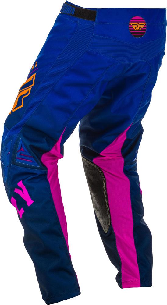 Fly Racing Pant Kinetic K220 Kids midnight blue-orange