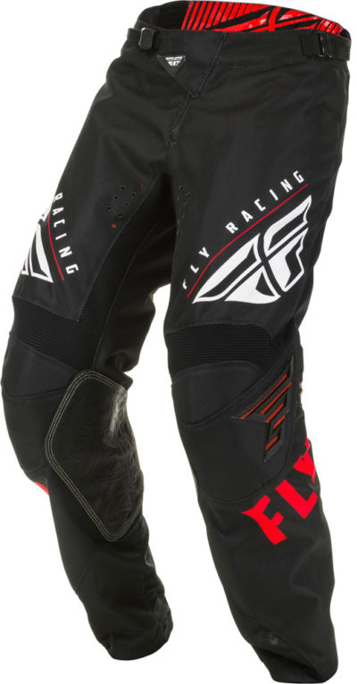 Fly Racing Pant Kinetic K220 red-black-white
