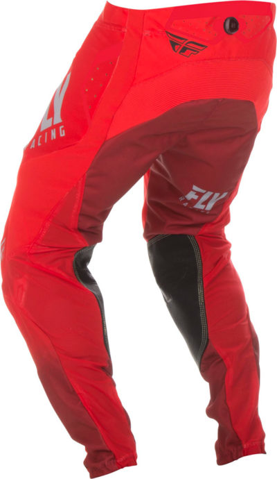 Fly Racing Pant Lite Hydrogen red-grey