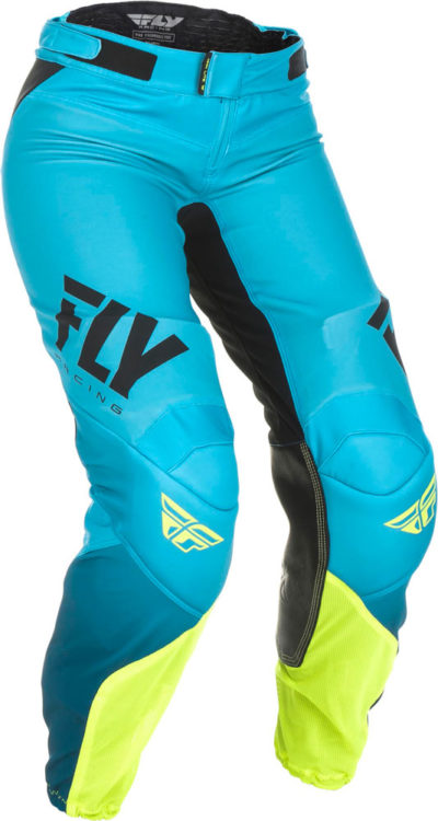 Fly Racing Pant Lite Race Lady blue-hi-vis
